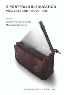 "Capa do livro ""e-portfolio in education"""